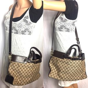 ❤️CROSSBODY ❤️monogram GUCCI tote